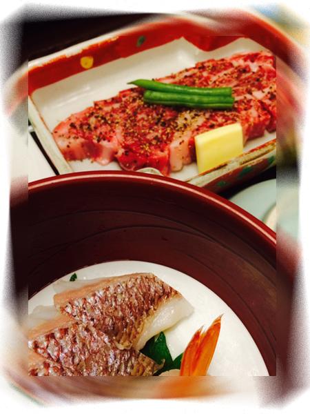 近江牛のステーキは美味しかった!
