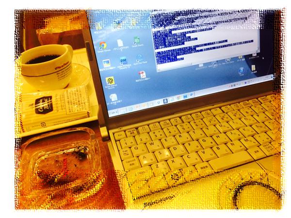 カフェでもオフィスと同じ環境で仕事できる