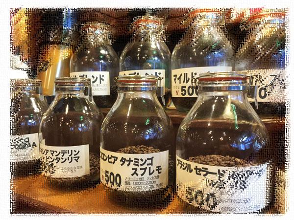 薫り高いコーヒーが美味しい専門店