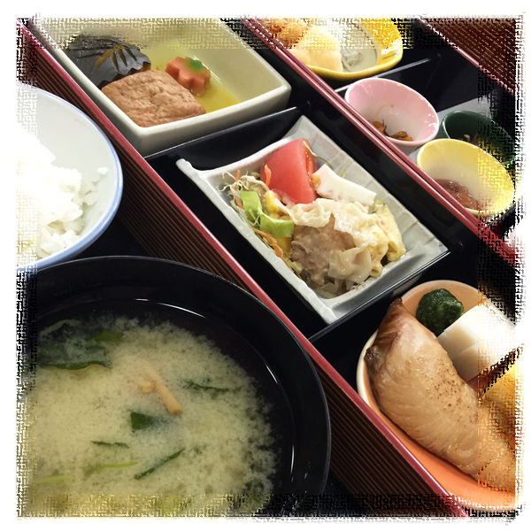 伊豆長岡温泉はなぶさ旅館の朝食