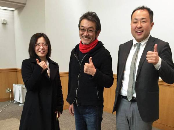 大石さんと篠原さん ありがとうございます