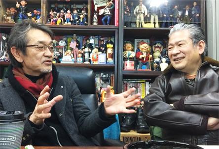 坪井秀樹さんとトークセッション