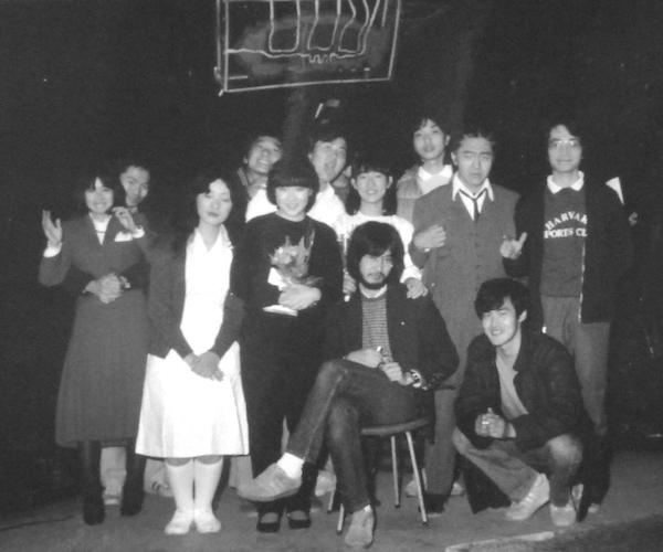 劇団SHIN時代の写真 ボクはどこにいるでしょう? なかなかわからないかも。