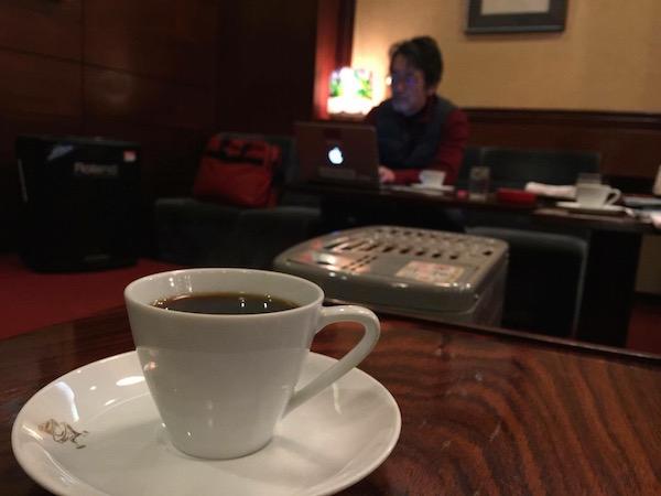 リリーはめっちゃコーヒーが美味しい
