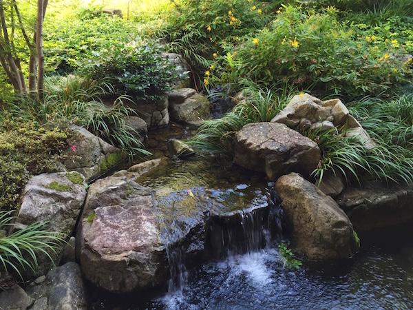 水の流れは同じ水に見えても流れています