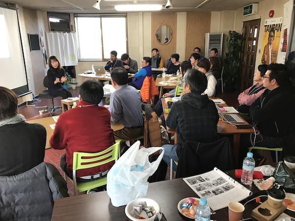 釧路塾の様子 Twitter講座